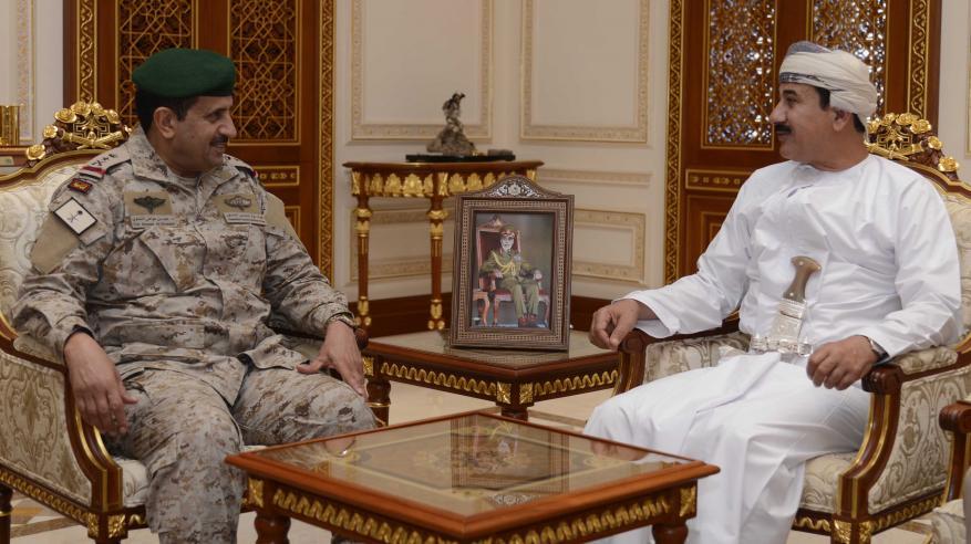 النعماني يستقبل قائد القيادة العسكرية الموحدة لدول الخليج