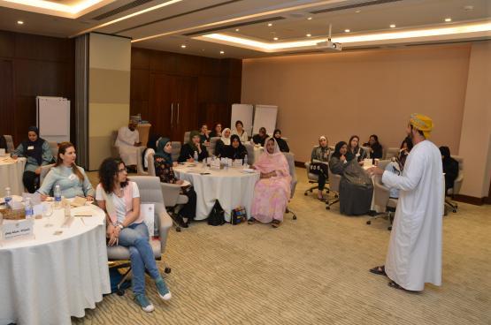 منظمة المرأة العربية تنفذ برنامجا إقليميا لرفع كفاءة المشاريع النسائية في مسقط