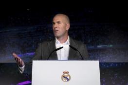ماذا قال زيدان في أول تصريح بعد عودته إلى ريال مدريد