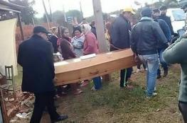 الميت الذي حضر جنازته