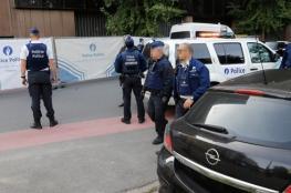 طعن شرطي بسكين وإطلاق النار على المهاجم في بلجيكا