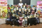 """تعزيز مهارات القراءة لدى الأطفال ضمن فعاليات """"هيا نقرأ مع مرشد"""""""