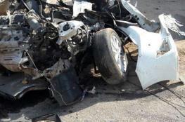 شاهد .. صور مروعة لحادث سير جنوني بالسعودية