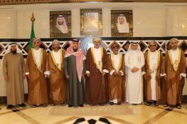 """رئيس """"الرقابة المالية والإدارية"""" يبحث تعزيز التعاون مع ديوان المراقبة العامة السعودي"""