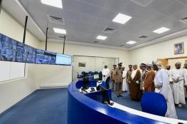 افتتاح المبنى الجديد لمركز شرطة الكامل والوافي ومبنى الخدمات