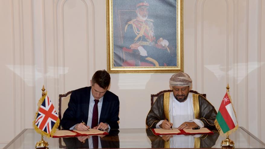 جلسة مباحثات رسمية بين السلطنة والمملكة المتحدة لاستعراض سبل تعزيز التعاون العسكري