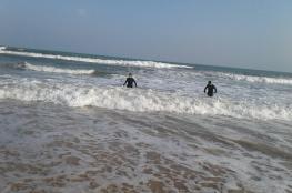 العثور على الفتاة الغارقة في شاطئ جعلان بني بوعلي مفارقة للحياة