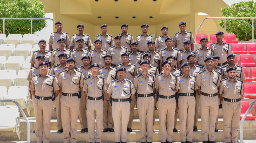 اختتام دورة المهارات للضباط بأكاديمية الشرطة