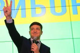 ممثل كوميدي يتجه للفوز بمنصب رئيس الجمهورية في هذه الدولة