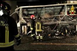 مقتل 16 معظمهم طلاب مجريون في تحطم حافلة بإيطاليا