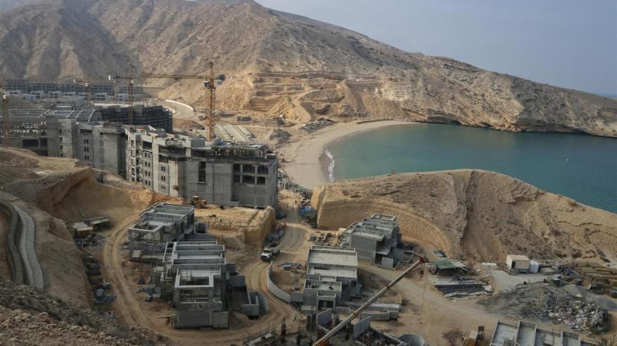 """وكيلة """"السياحة"""" تتفقد سير العمل في مشروع سرايا بندر الجصة.. وافتتاح المرحلة الأولى مطلع 2017"""