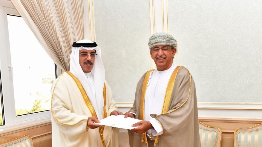 السعيدي يتسلم دعوة لحضور معرض ومؤتمر الصحة العربي بدبي