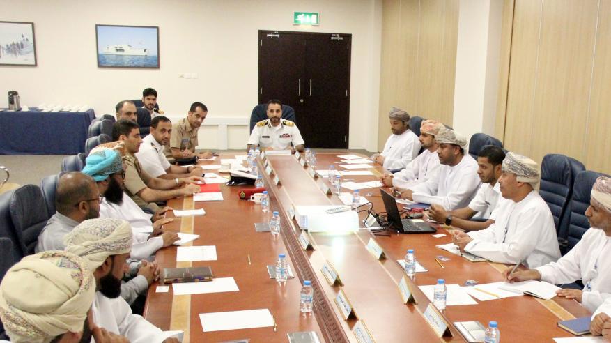 اجتماع تنسيقي حول الإجراءات القانونية المتعلقة بالأمن البحري