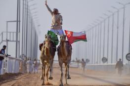 الهجانة السلطانية تختتم مشاركتها في مهرجان الملك عبد العزيز للإبل
