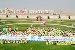 حملة 1000 متطوع لتنظيف الشواطئ بجعلان بني بو علي