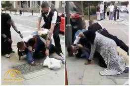 بالفيديو.. الشرطة تعتدي بوحشية على خليجي في لندن