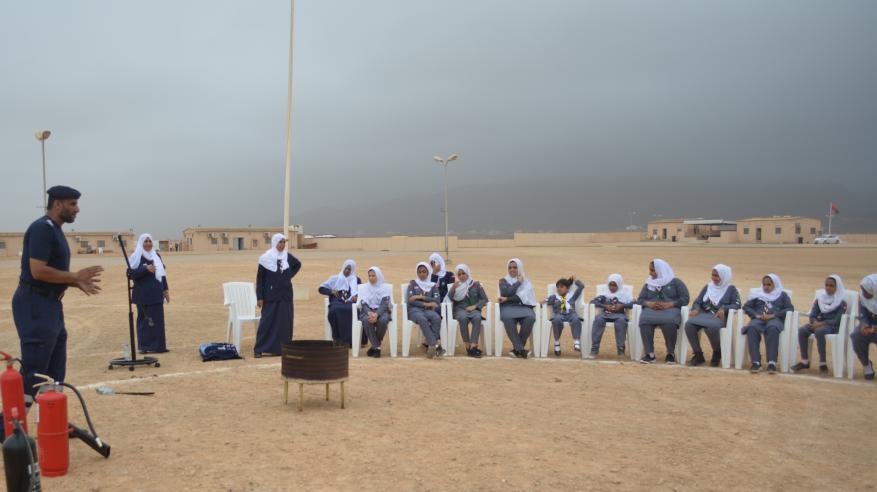 بدء ملتقى شارات الهواية والارتقاء بالبيئة ضمن أنشطة المخيم الصيفي بظفار