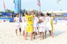 منتخبنا للقدم الشاطئية يتأهل إلى نهائيات كأس العالم