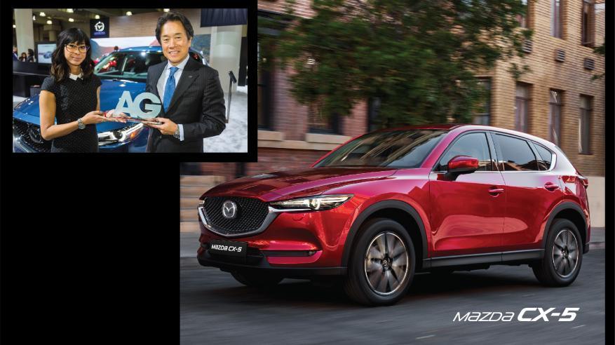 """""""مازدا CX-5"""" تفوز بجائزة السيارة متعددة الاستخدامات"""