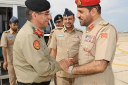 رئيس اللجنة العليا للتعاون الدفاعي بالكويت يغادر البلاد