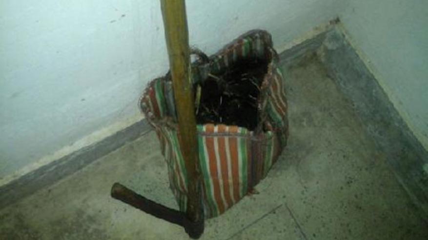 هندي يقطع رأس زوجته ويتجول بها داخل حقيبة