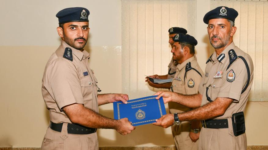 اختتام دورة المهارات لضباط الشرطة