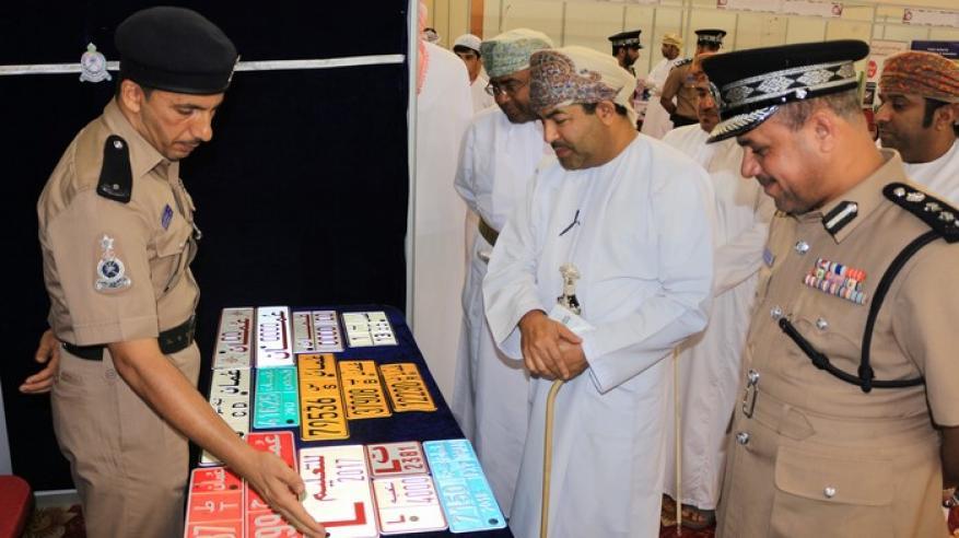 قيادة مسندم تشارك في معرض وتنظم ورشة عن التعامل مع مسرح الجريمة