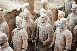 حل لغز أسلحة محاربي التيراكوتا الصينيين