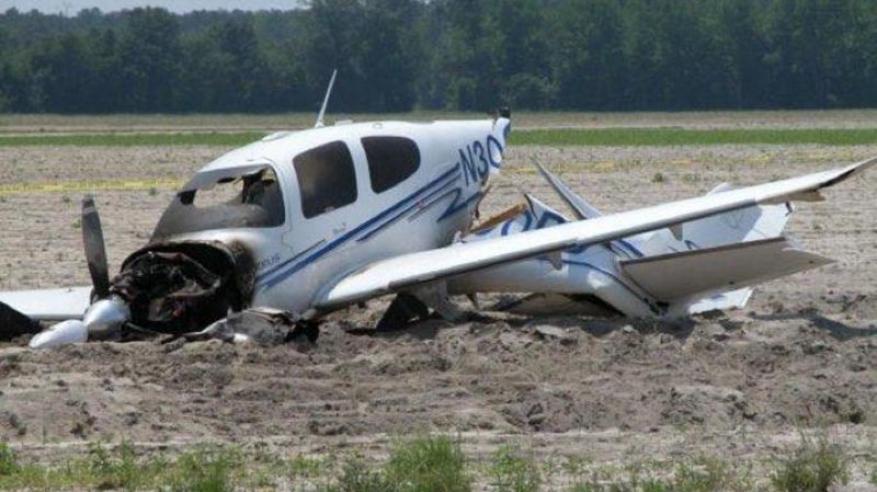 وفاة 4 أشخاص في تحطم طائرة سعودية