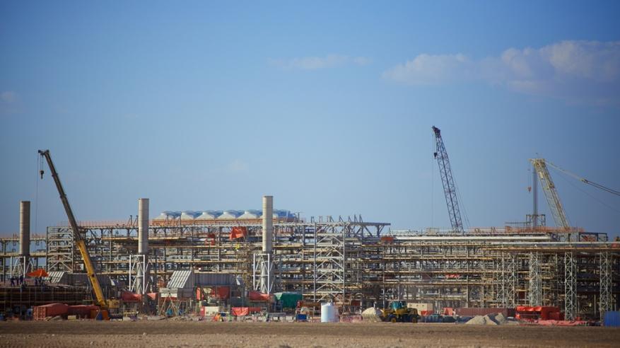 """""""بي.بي عُمان"""" تنجز 80% من أعمال المرحلة الأولى لمشروع حقل خزان للغاز"""
