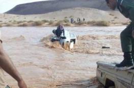بالصور.. إنقاذ 4 سعوديين من الغرق بالأردن