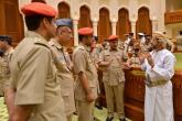تعريف منتسبي دورة القيادة والأركان بمهام واختصاصات مجلس عمان