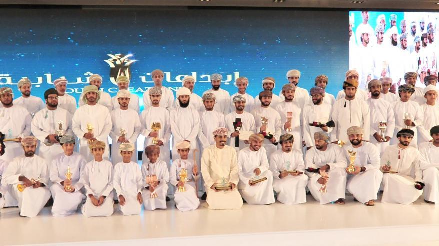 الشؤون الرياضية تحتفل بالفائزين في مسابقة الإبداع الشبابي