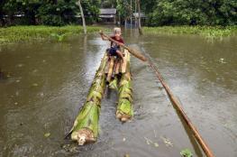 شاهد .. مقتل 75 على الأقل ونزوح 25 ألفا في فيضانات بالهند