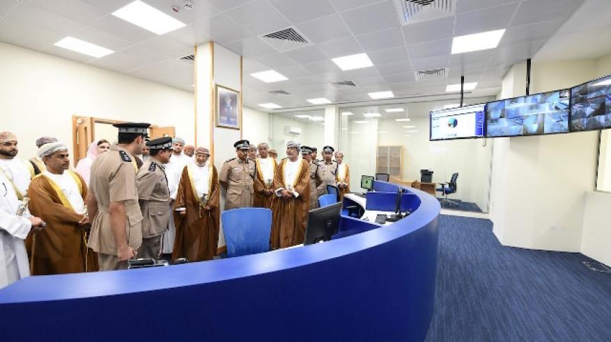 الشرطة تحتفل بافتتاح المبنى الجديد لمركز شرطة روي3