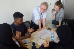 فريق عماني - ألماني من جيوتك ينفذ مشروعاً لزراعة بطون الأودية