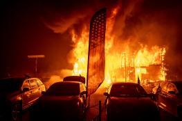 بالفيديو والصور.. ارتفاع ضحايا أسوأ حريق في كاليفورنيا