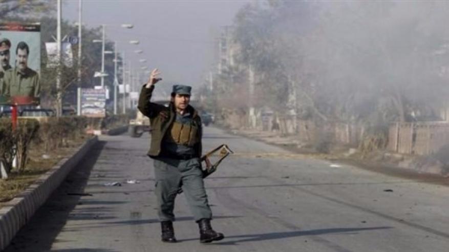 انفجار سيارة ملغومة بالقرب من قاعدة أمريكية بأفغانستان
