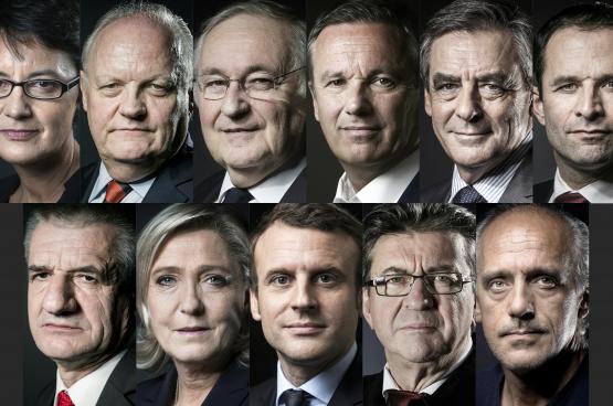 """فرنسا تصوّت اليوم """"بمزاج عنيف"""""""