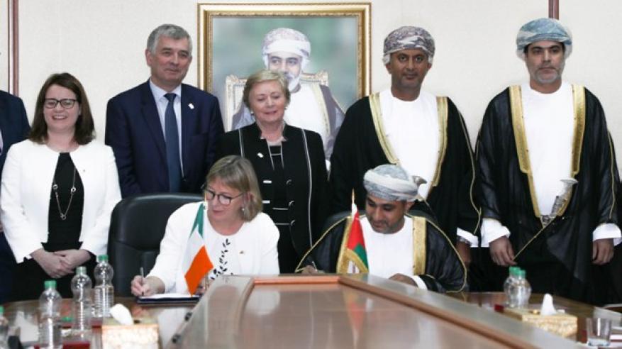 الصندوق العماني للتكنولوجيا يوقع اتفاقيات مع 3 مؤسسات أيرلندية
