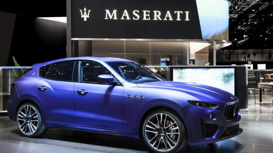Maserati Levante Trofeo Launch Edition at Geneva Motor Show 2019