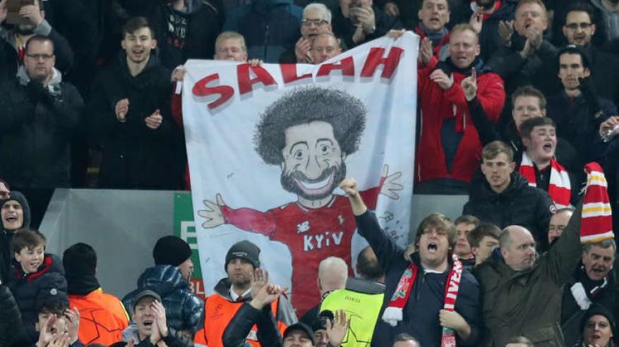 محمد صلاح يحقق أرقاما جديدة في ليلة التأهل أمام نابولي