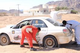 زكريا العامري خامساً في رالي الإمارات بالشارقة