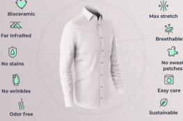 """""""قميص ذكي"""" يعزز مستويات الطاقة بجسم الإنسان"""