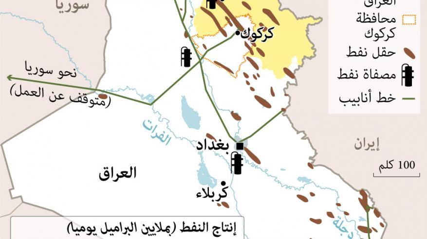 """""""المركزي العراقي"""" يخفف القيود المالية على بنوك كردستان"""