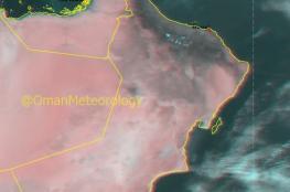 توقعات بهطول أمطار على أجزاء من جبال الحجر