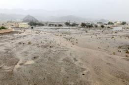 تزايد فرص هطول الأمطار الرعدية على بعض المناطق بالسلطنة