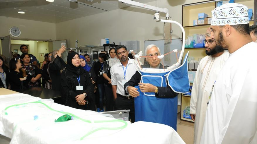 المستشفى السلطاني يختتم حلقة العمل التوعوية حول الحماية من تأثيرات الأجهزة الإشعاعية