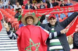 كرة القدم توحد العرب خلف المغرب
