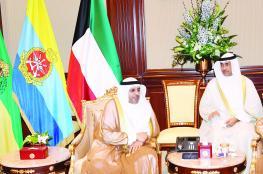 أمير الكويت يستقبل وزير الإعلام في مستهل مشاركة السلطنة ضيف شرف الملتقى الإعلامي العربي